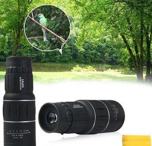 Professionele Monokijker 16x52 Dual Focus | Optische Lens met 16x optische zoom| Monocular Telescoop | Professionele verrekijker | 66M/8000M