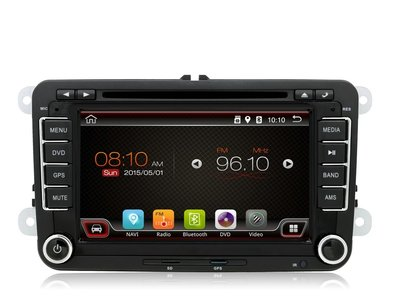 "Android 6.0 DVD navigatie radio 7"" VW Volkswagen Golf Touran Polo Passat, GPS, Wifi, Mirror link, OBD2, Bluetooth, 3G/4G"