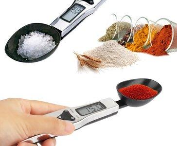 RVS Nauwkeurige Digitale Lepelweegschaal | Digitale Weeglepel | Keuken Weegschaal Lepel | Precisie Weegschaal | Tot 0,1 gram Nauwkeurig