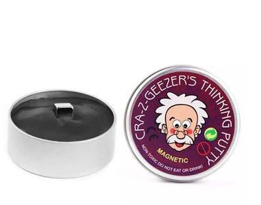 Magic Putty | Magnetisch Plasticine Hand Gum | Magnetische Kneed Gum | Silly Putty Hand Klei | Magnetic Smart Mud | Kleur Zwart