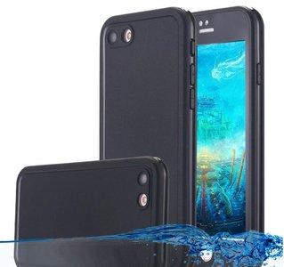 Waterdichte Stofdichte Apple iPhone 8 Plus + Hoes Case   Op Maat Gemaakte Telefoonhoes voor iPhone 8 Plus +   Geheel Waterdicht en Rondom Bescherming
