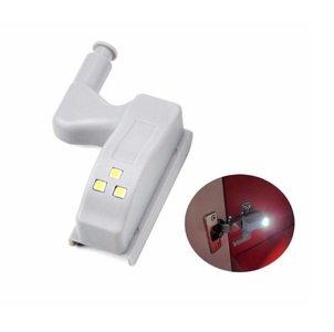 Automatische LED Kast Verlichting   LED Scharnier Verlichting met Druksensor   Kastverlichting LED Warm Wit