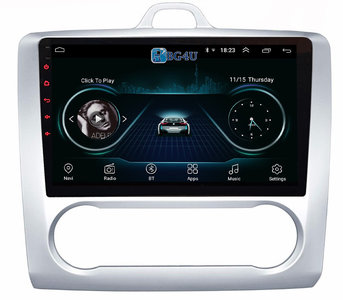 Navigatie radio Ford Focus, Android 8.1 OS, 9 inch scherm, GPS, Wifi, Mirror link, DAB+, Bluetooth, Canbus, Auto climate