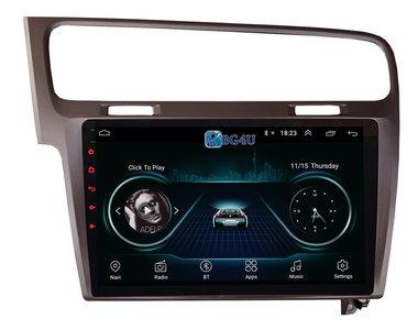 Navigatie radio VW Volkswagen Golf 7, Android 8.1, 10.1 inch scherm, Canbus, GPS, Wifi, Mirror link, OBD2, Bluetooth, 3G/4G, Egaal grijs