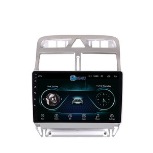 Navigatie radio Peugeot 307 2004-2013, Android OS, Apple Carplay, 9 inch scherm, Canbus, GPS, Wifi, Mirror link, OBD2, Bluetooth, 3G/4G